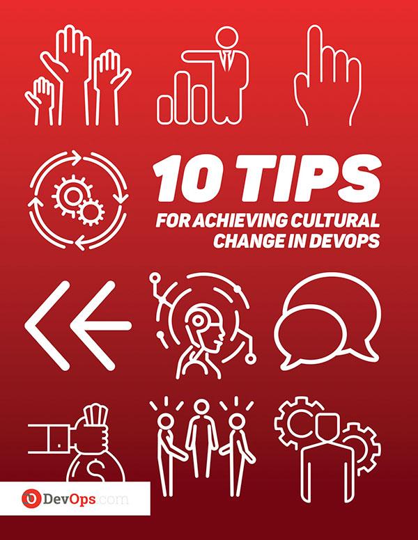 10 Tips DevOps cultural change